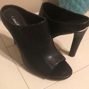 Black heels- great condition!